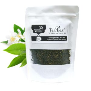 תה ירוק עם יסמין (אורגני) עדנים - 100 ג'
