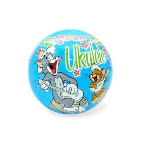 """כדור פלסטיק קטן (15 ס""""מ) - טום וג'רי"""