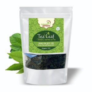 תה ירוק עם נענע בתפזורת (אורגני) עדנים - 100 גר'