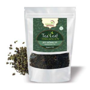 תה אואולונג ירוק בתפזורת (אורגני) עדנים - 100 גר'