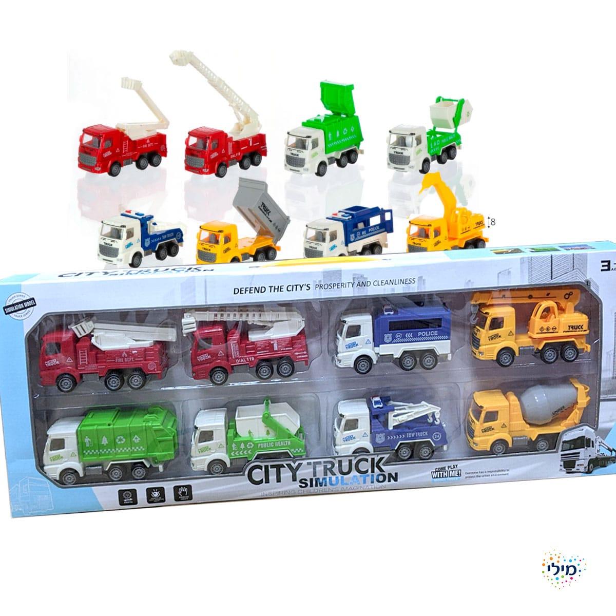 משאיות מתנה לילדים