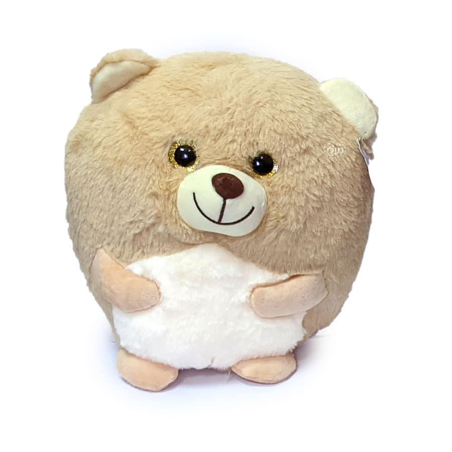 דובי עגלגל חום רך ונעים