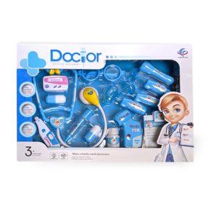 סט רופא גדול כחול