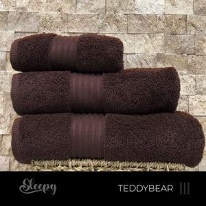 מגבות רכות חום דובי