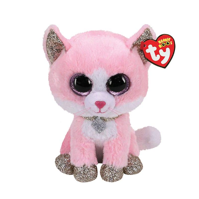 בובת TY - פיונה חתולה ורודה (S)