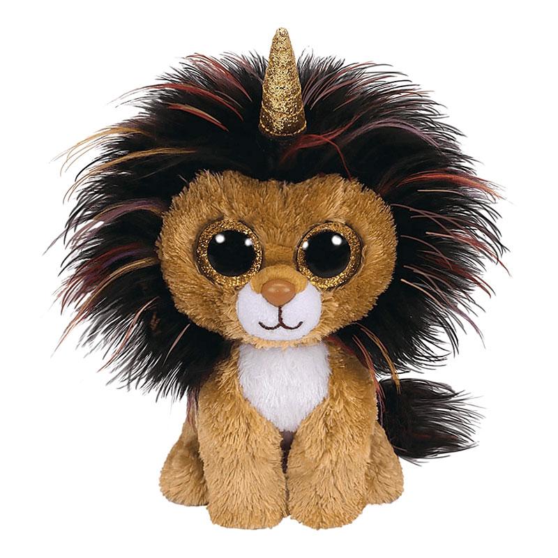 בובת TY - רמזי אריה עם קרן (S)