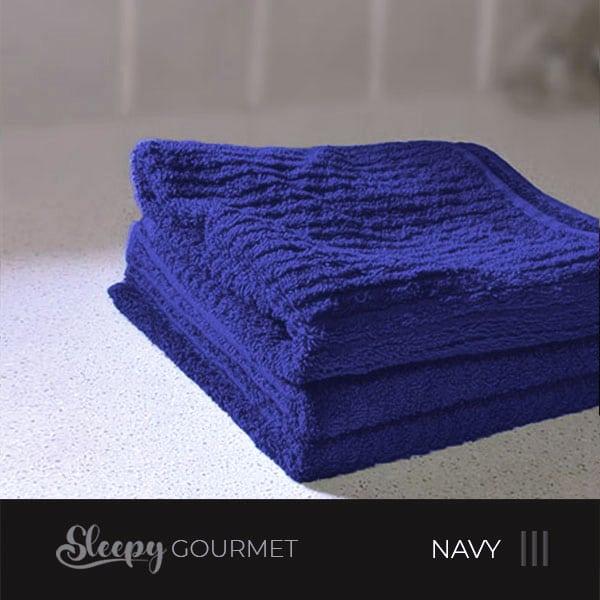 מגבות מטבח איכותיות - כחול נייבי סליפי