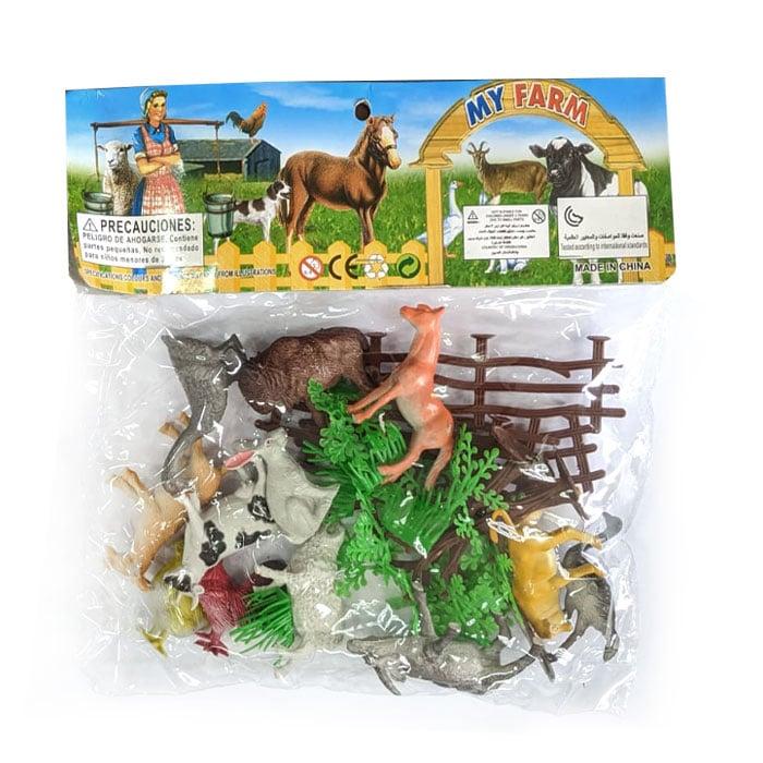 12 חיות לילדים עם חווה